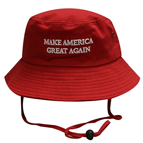 Bd2024-Bold-Trump-Make-America-Great-Again-Bucket-Hat-Red