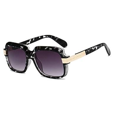 Yying Gafas de sol cuadradas de lujo Mujeres Hombres Gafas ...