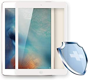 PERFECTSIGHT Screen Protector compatible with iPad Pro 12.9 Inch 2015/2017 model [HD Clear Medical Device] Anti 6 Radiations Blue Light Filter Anti Fingerprint Tempered Glass