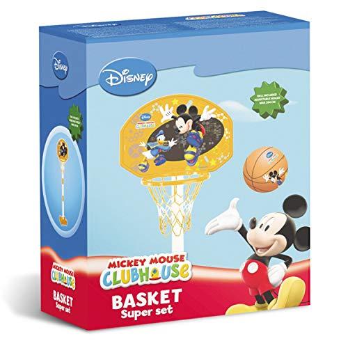 Mondo Mickey Mouse - Canasta de Baloncesto y Poste de Canasta ...
