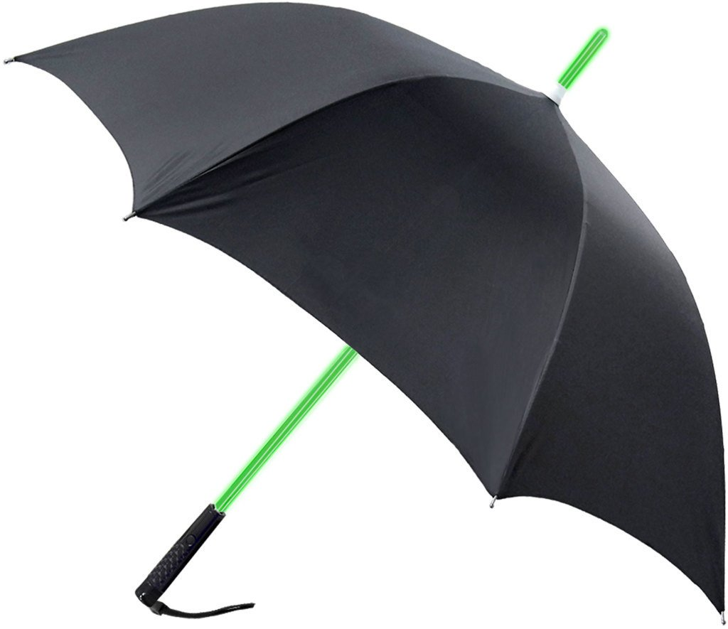 RainWorthy Black 48-inch LED Shaft Umbrella (Case of 30) by RainWorthy