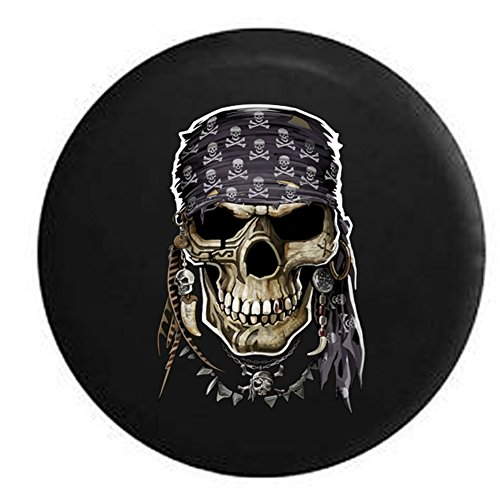 Compare Price To Skull And Crossbones Tire Cover