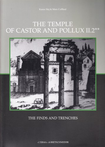The Temple of Castor and Pollux II,2: The Finds (Occasional Papers) (Italian Edition)