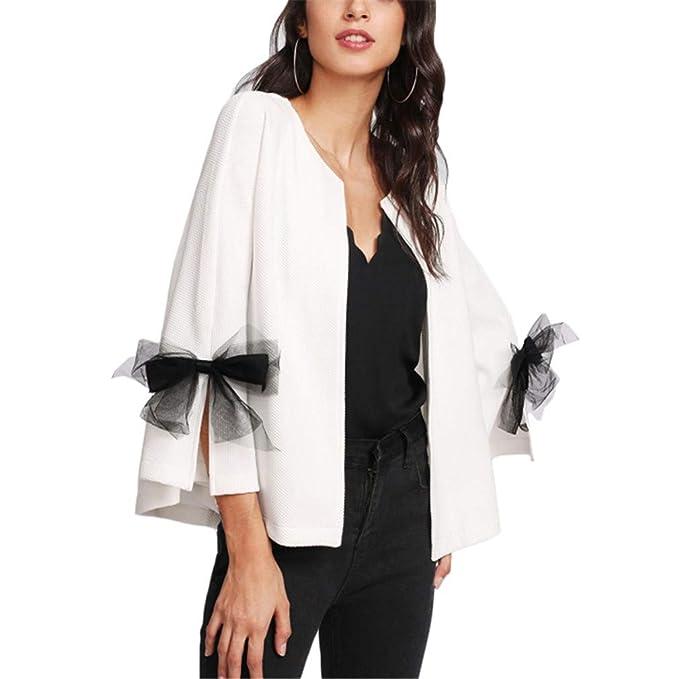 Amazon.com: Chaleco de mujer con diseño de campana con ...