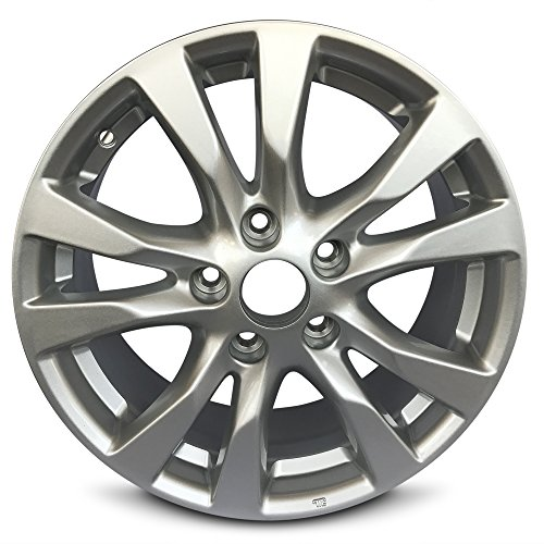 Nissan Altima 16 Inch 5 Lug 6 Split Spoke Alloy Rim/16x7 5-114.3 Alloy Wheel (Alloy Wheels Split Rim)