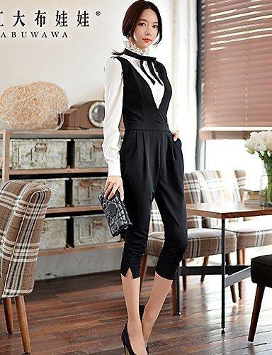 GSP-Damen Jumpsuits - Leger/Arbeit Elasthan/Polyester Mikro-elastisch