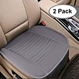 Breathable 2pc Car Interior Seat Covers Cushion Pad Mat for Auto Supplies Office