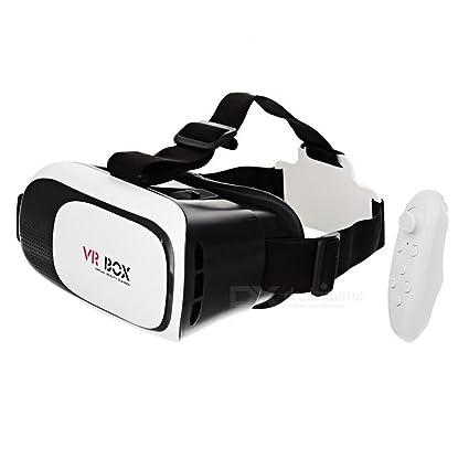 8ceff62d3d00b Oculos de Realidade Virtual 3D Vr Box + Controle Bluetooth  Amazon ...