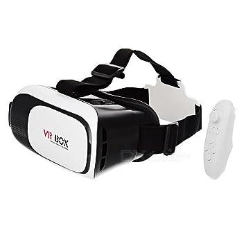 73413e389 Oculos de Realidade Virtual 3D Vr Box + Controle Bluetooth: Amazon ...