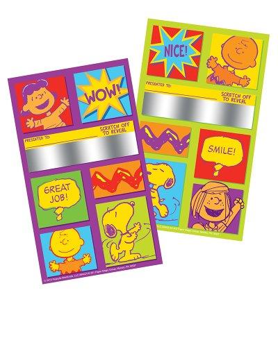 Eureka Peanuts Scratch Off Rewards