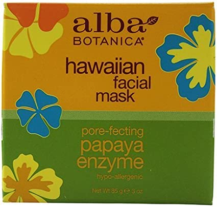 Alba Botanica: Natural Hawaiian Facial Mask Papaya Enzyme, 3 oz (8 pack) by Alba Botanica: Amazon.es: Belleza