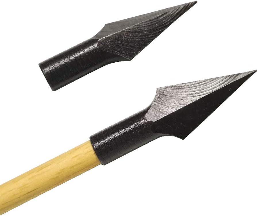 Archery Traditional Broadheads Glue on Arrow Tips Field Points ...