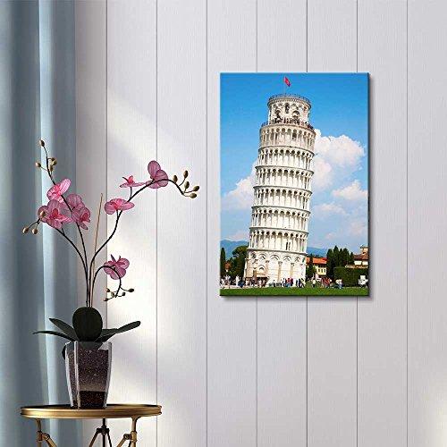 Famous Lankmark Leaning Tower of Pisa Tuscany Italy