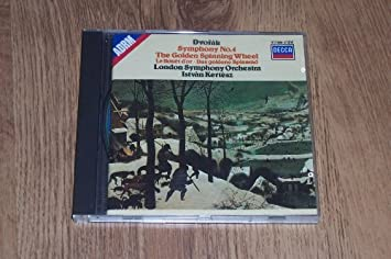 Dvorak: Symphony No. 4 / Golden Spinning Wheel : Unknown: Amazon ...