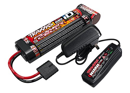 Traxxas Battery/Charger Completer Flat Pack with 2-amp fast charger and 8.4V NiMH battery (Traxxas Summit Battery Lipo)