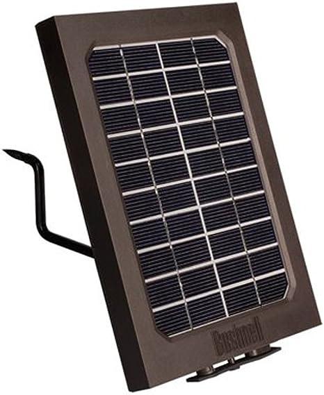 Bushnell 119656C Panneau Solaire pour Camera Noir