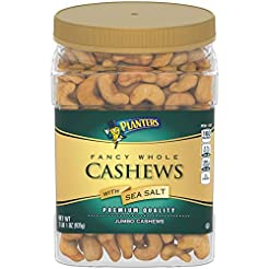 Planters Salted Whole Cashews (33 oz Con...