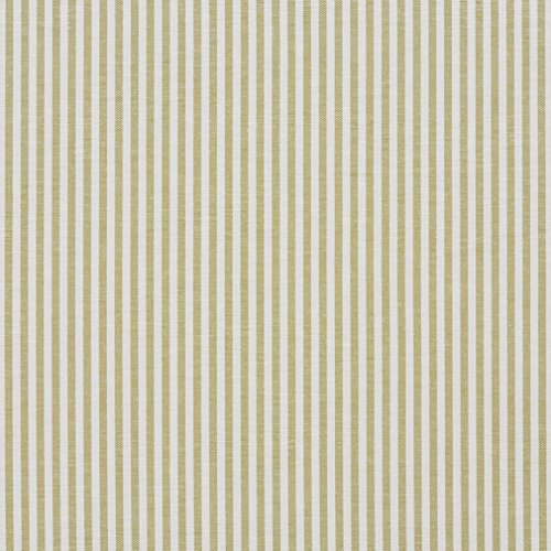 d White Ticking Stripes Cotton Heavy Duty Upholstery Fabric By The Yard (Striped Quilt Fabric)