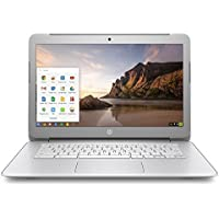 HP 14 diagonal SVA BrightView HD Chromebook - Intel Dual-Core Celeron N2840 2.16GHz, 4GB DDR3, 16GB eMMC, 802.11ac, Bluetooth, HDMI, USB 3.0, Chrome OS (Certified Refurbished)