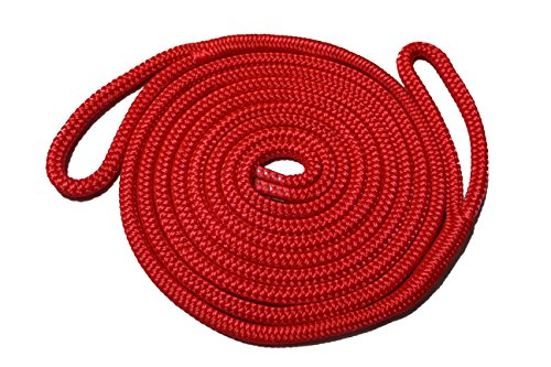 (Starr Lines Double Braided Polypropylene Fender Lines (3/8-Inch X 6-Feet, 2 Each))
