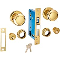 UltraSecur 44630 Lock Mortise, Knob + 2Cy Dbolt