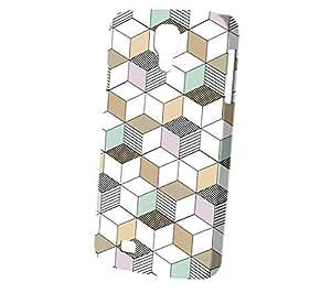 Case Fun Samsung Galaxy S4 (i9500) Case - Vogue Version - 3D Full Wrap - Dot Dash Cubes by Finch Five