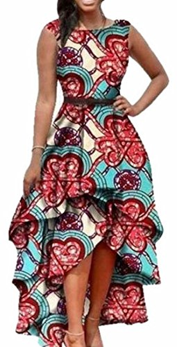 high low african dresses - 9