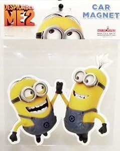 Despicable Me 2 High Five Minion Car Magnet