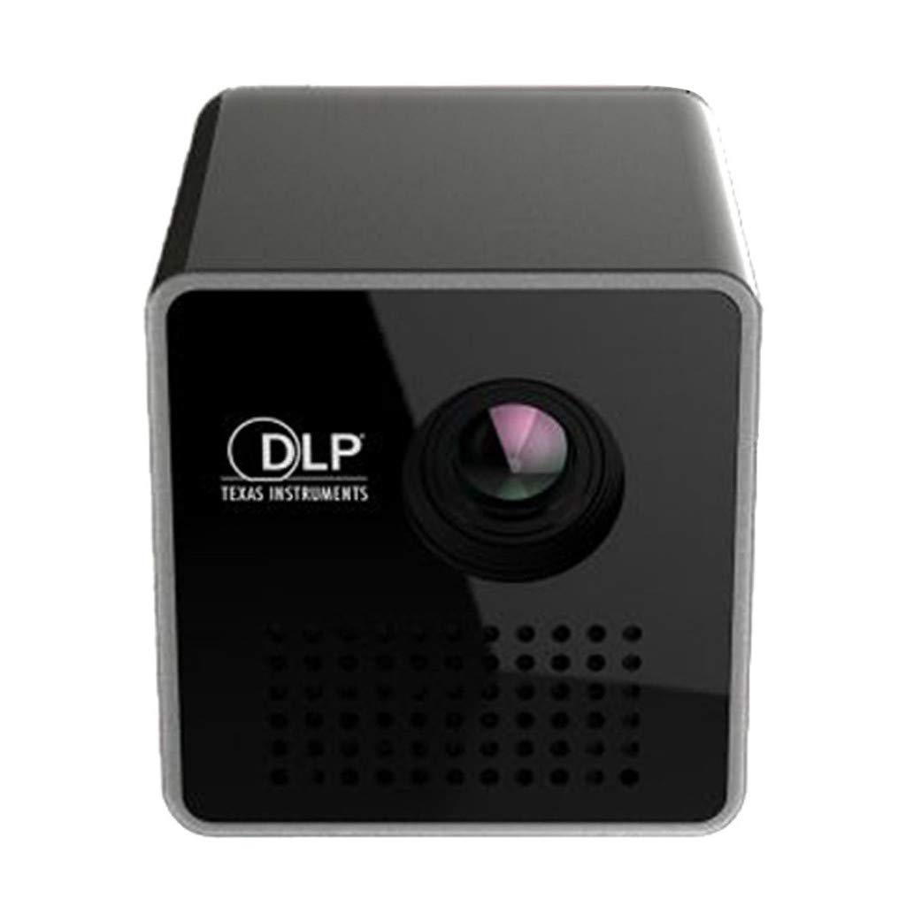 Sonmer Mini DLP WiFi 30 Lumen 1080p Media Projector, Build-in Speaker and 950mAh Battery,for Home Business Video Multimedia-Upgrades