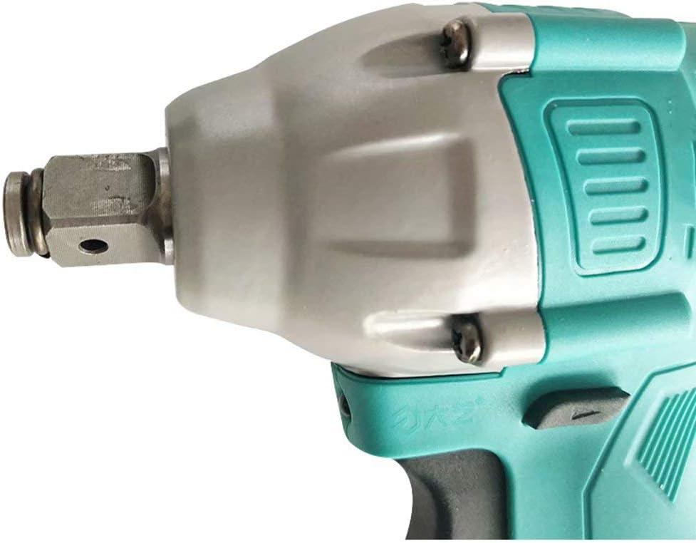 Aberdeen GZ Clé à Chocs sans Fil 1/2 Pouce Max Torque Variable Speed Control A3-6802-40 Double Batterie sans balais Paquet B TtGlL