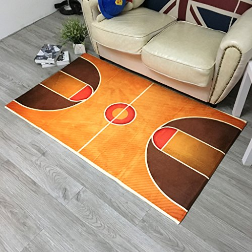 Amazon.com: Rugs Basketball Courts Club Mats Entry Household ...