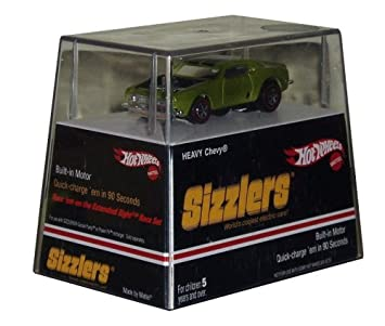 Amazon Com Hot Wheels Sizzlers World S Coolest Electric Car