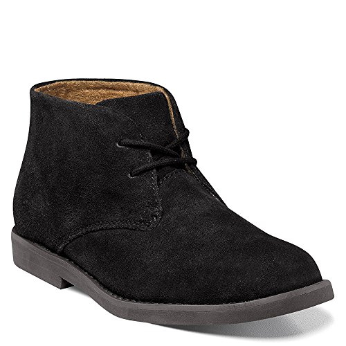 [Florsheim Kids  Quinlan JR Uniform CB Chukka Boot (Little Kid/Big Kid), Black, 6 M US Big Kid] (Next Kids Boots)