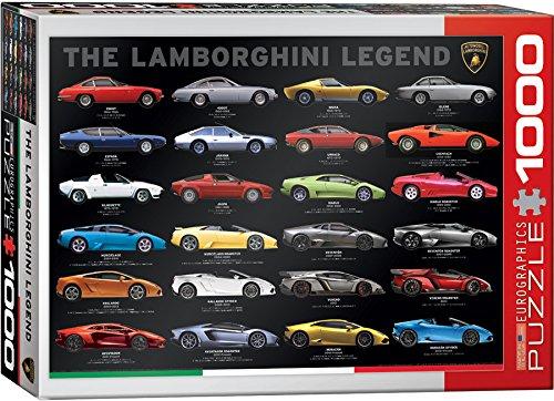 EuroGraphics The Lamborghini Legend Puzzle (1000 Piece)