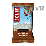 CLIF BAR - Energy Bar - Chocolate Brownie - (2.4 Ounce Protein Bar, 12 Count)