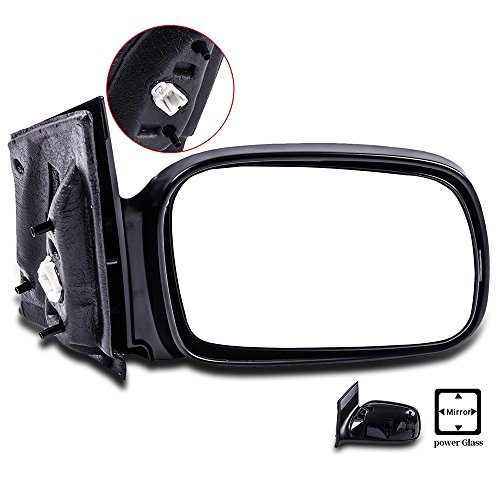 Coupe Power Side Mirrors (SCITOO Passenger Right Door Mirror for 2006-2011 Honda Civic Coupe Power Side Mirror Adjusted Non-Folding Non-extended)