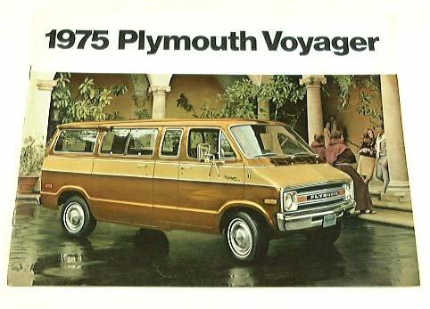 1975 75 Plymouth VOYAGER Van Wagon BROCHURE PB100 PB200 ()