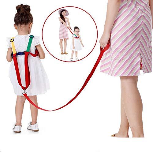 Mommys Helper Kid Keeper Correa auxiliar con correa de mu/ñeca de 2 metros seguridad para beb/és caminando Arn/és de cintur/ón anti-perdido Sure Steps Child Harness Riendas con correa