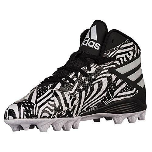 Adidas Performance Heren Freak Md Voetbalcleats Wit / Wit / Zwart