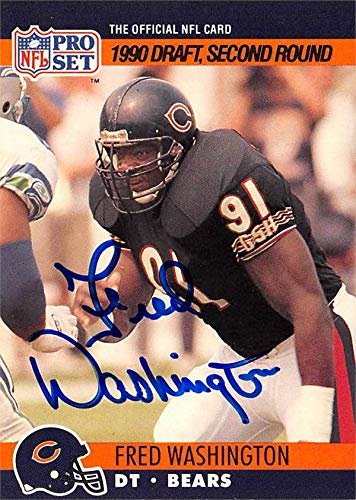 Image result for fred washington chicago bears