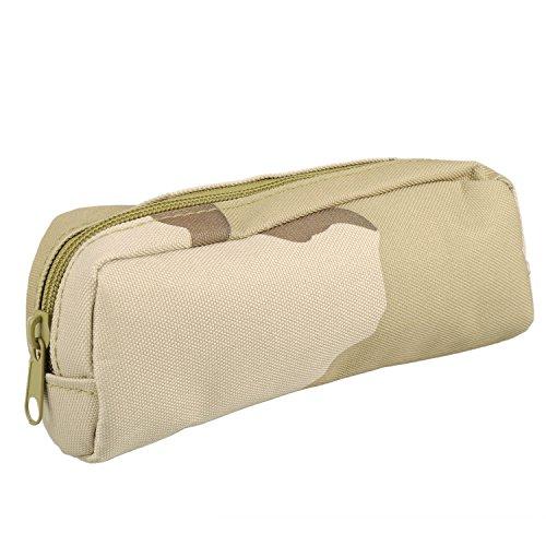 Tactical Glass Pouch,Bienna Small Military Bag Molle Gear [Waterproof] Nylon EDC Utility Gadget Zipper Waist Pack Wallet Holster Pocket Cover Case for Vest & Phone Eyeglass Sunglass Eyewear-TD