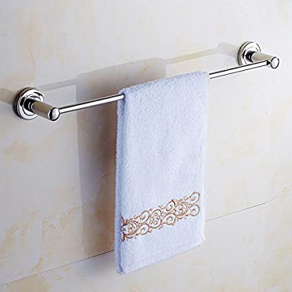 Cuarto de baño de acero inoxidable colgante de 304 barra de toalla toallas aseo colgando sola