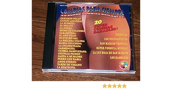 Los Polifaceticos, San Marcos Tropical, Super Formula Musical, La Luz Roja De San Marcos, Los Ramblers Fiesta 85 - Cumbias Para Siempre - Amazon.com Music