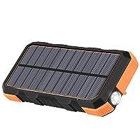 Solar Charger 26800mAh Hiluckey 18W Powe...