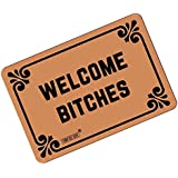 FUNNY KIDSu0027 HOME Welcome Bitches   Funny Doormats Personalized Durable  Machine Washable Indoor/