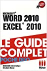 Word 2010 et Excel 2010 par application
