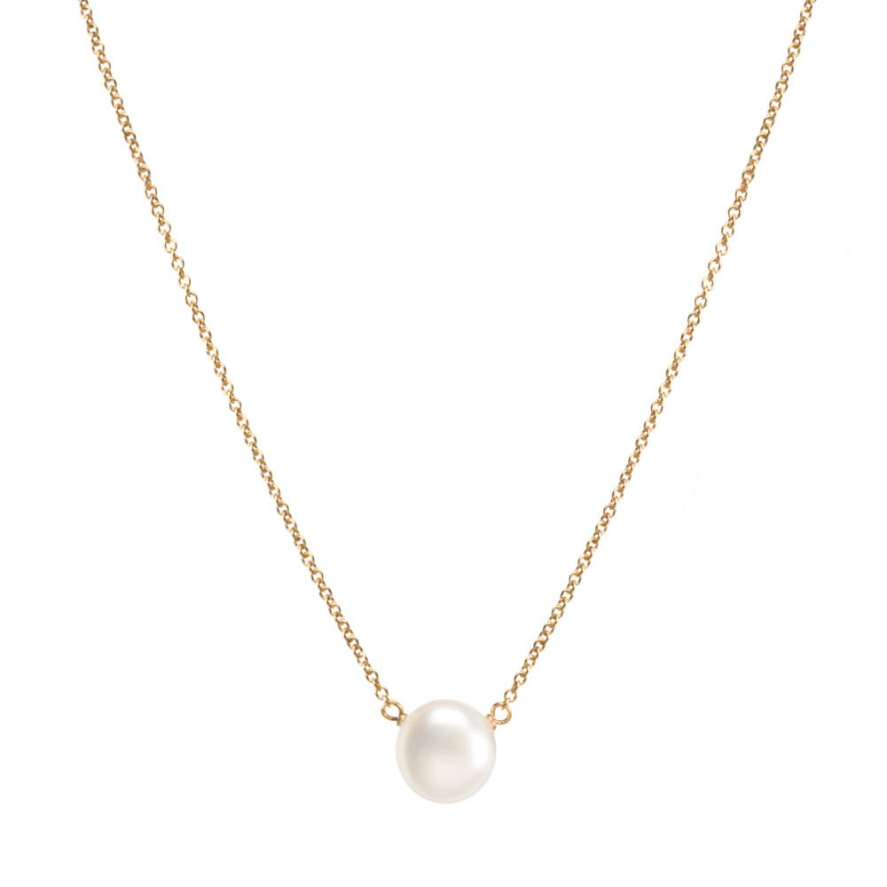 Dogeared Gold Filled Pearls of Good Luck Small Freshwater Cultured 16'' with 2'' Ext. Necklace