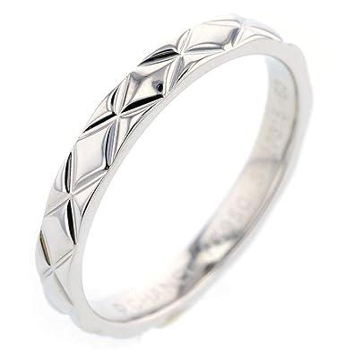 99835db9ee72 (シャネル)CHANEL マトラッセ ラージモデル リング・指輪 プラチナPT950 メンズ 中古