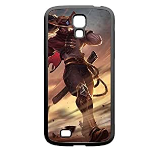 Yasuo-002 League of Legends LoL case cover for Samsung Galaxy S4, GT I9500, I9005, I9006 - PC Black