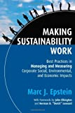 Making Sustainability Work, Marc J. Epstein, 1576754863